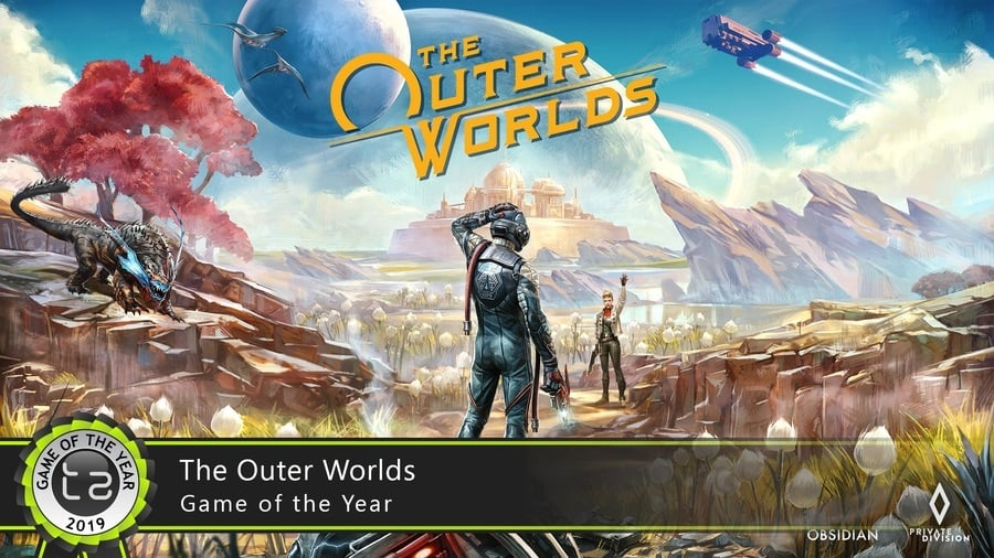 Игра года Outer Worlds