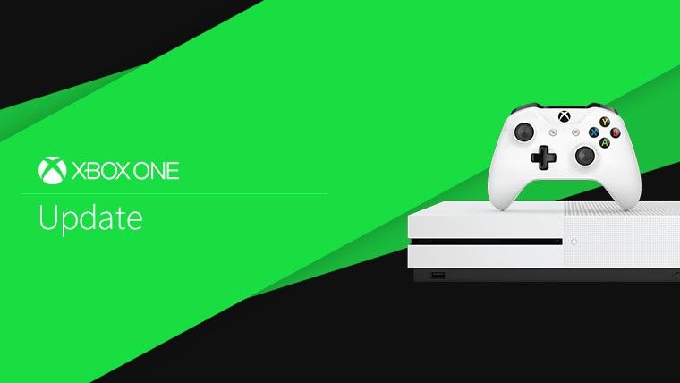 Обновление Xbox One