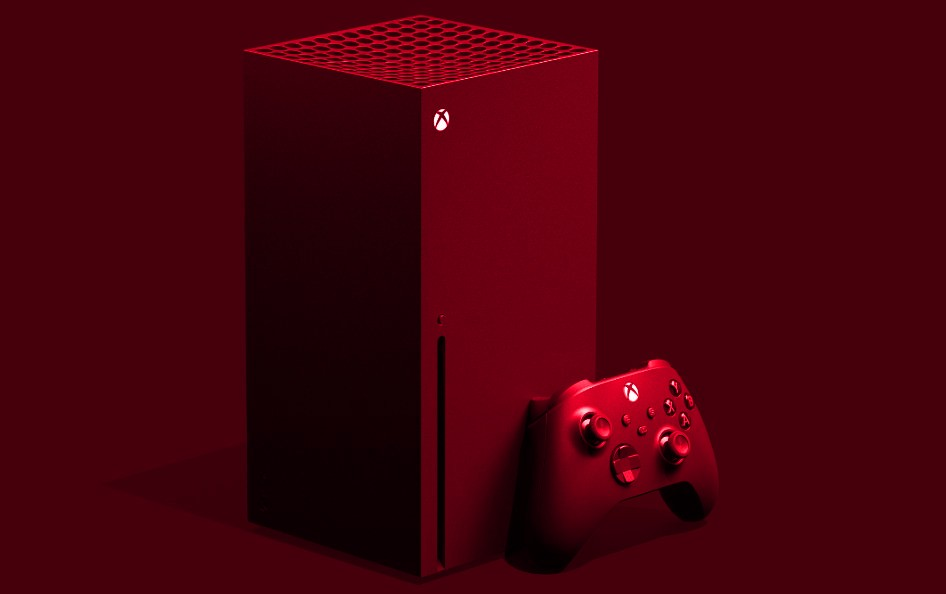 Красный Xbox Series X
