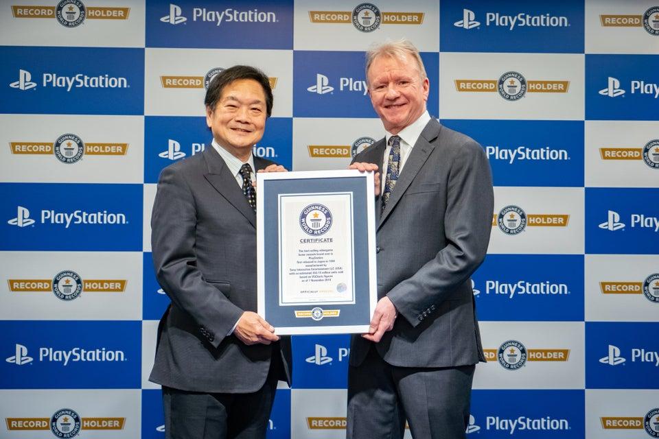 PlayStation попала в Книгу рекордов Гиннеса как самый продаваемый консольный бренд в мире