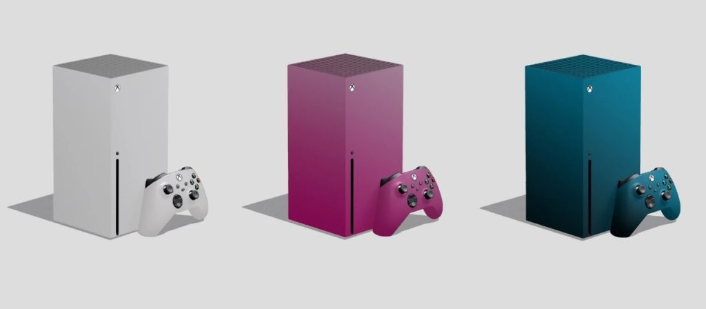 Xbox Series X Collors