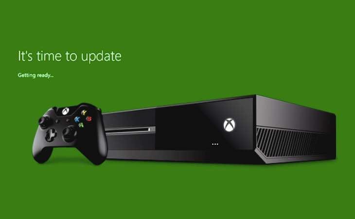 Время обновлять Xbox One