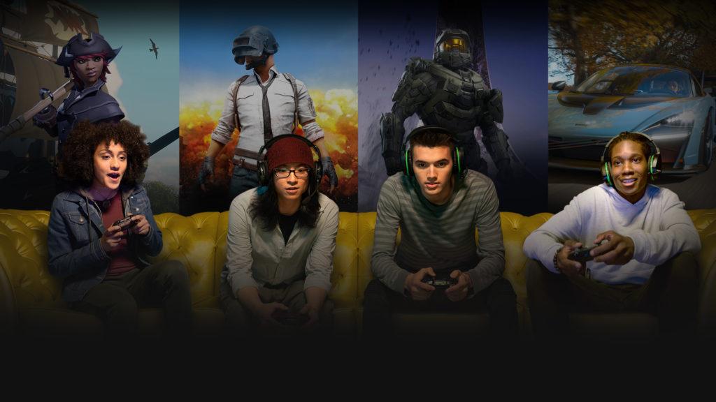 Игровая вечеринка Xbox