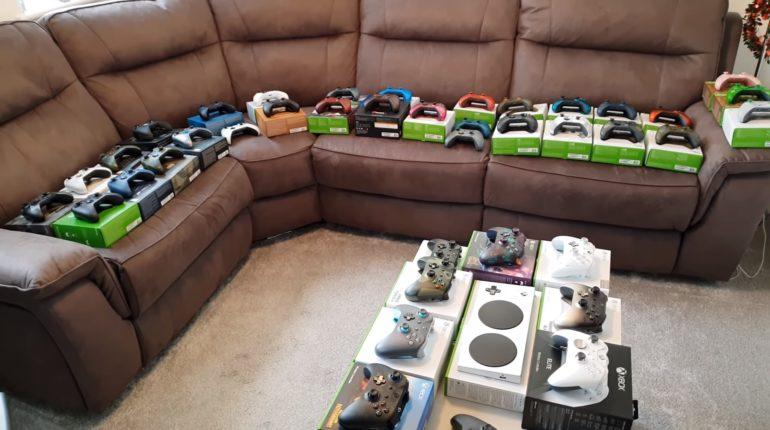 Коллекция геймпадов Xbox One