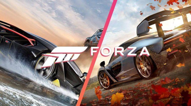 Бандл из Forza Horizon 4 и Forza Horizon 3