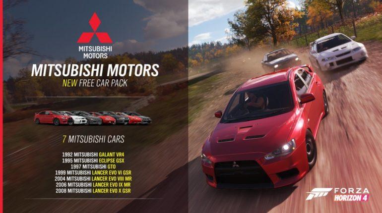 Forza Horizon 4 Mitsubishi