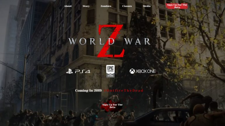 World War Z Beta