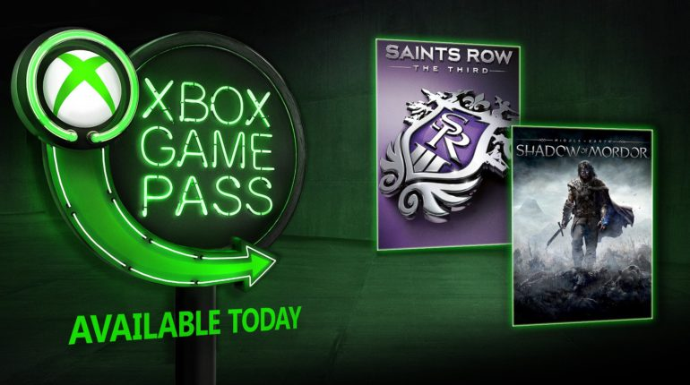 Xbox Game Pass Shadow of Mordor