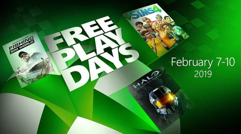 Free Play Days Xbox One Feb 2019