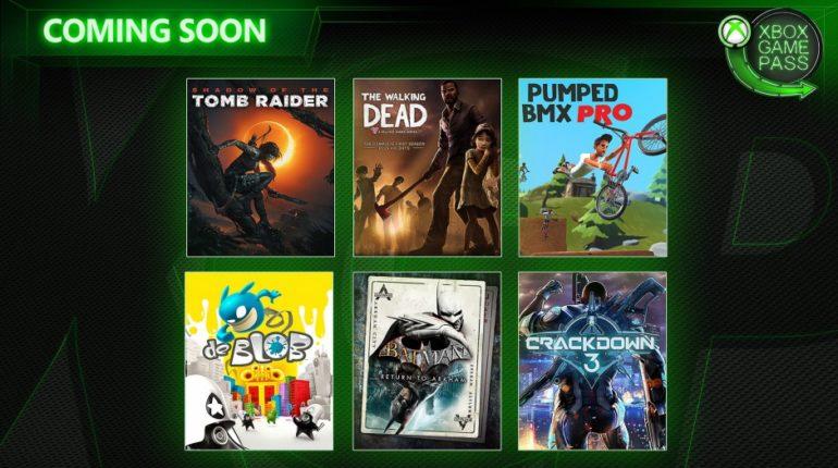 Xbox Game Pass февраль 2019