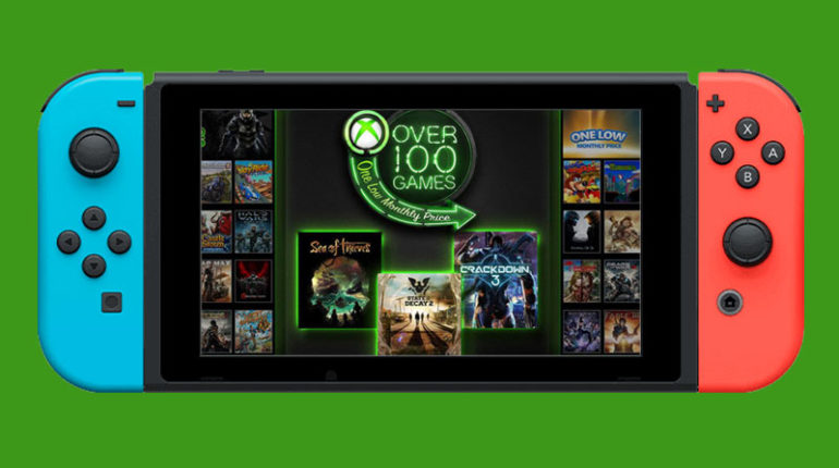 Xbox Game Pass на Nintendo Switch