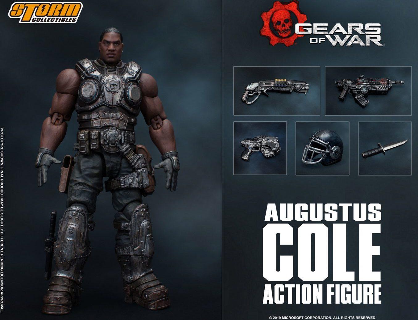 gears of war коллекционная фигурка