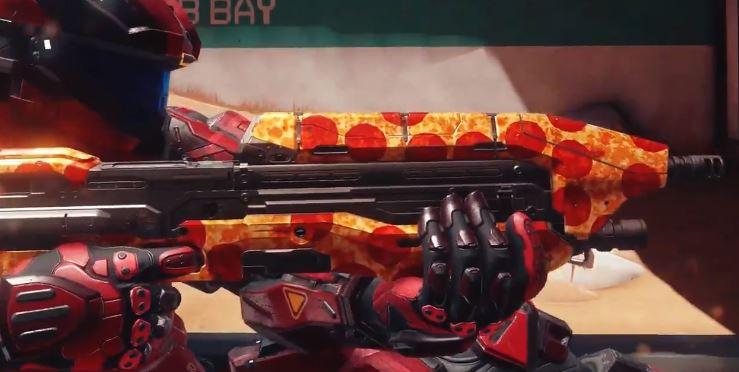 Halo 5 скин пиццы