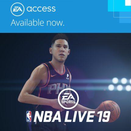 NBA Live 19 помещена в хранилище EA Access