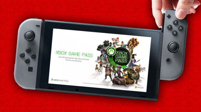 Nintendo Switch GAME PASS