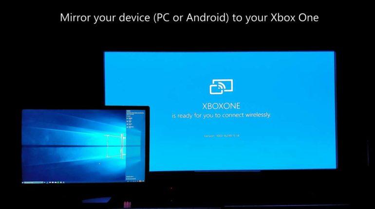 Приложение Wireless Display вышло на Xbox One