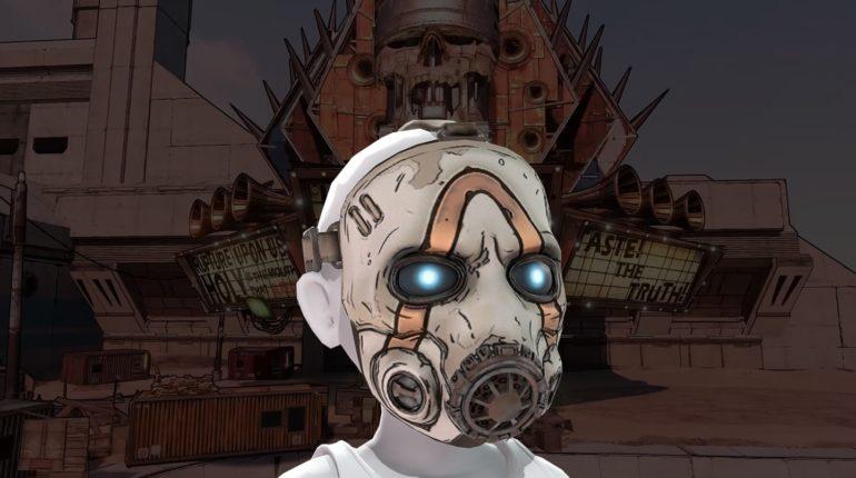 Бандитская маска Borderlands 3 для автара