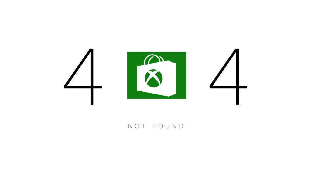 Xbox Store Not Found