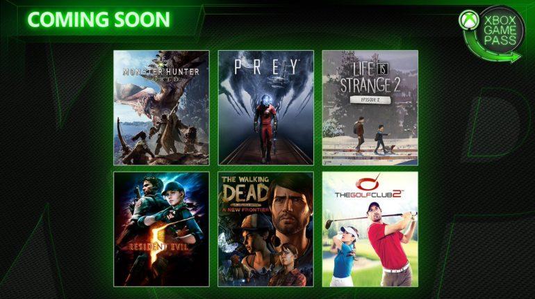Xbox Game Pass апрель 2019 года
