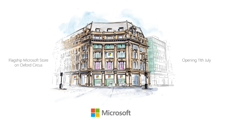Microsoft объявляет дату открытия флагманского магазина Microsoft Store в Лондоне