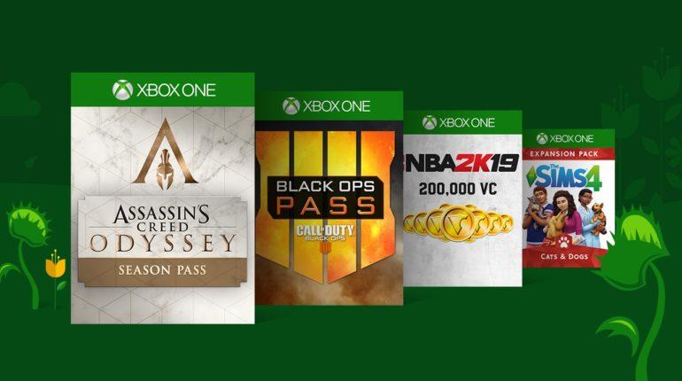 В цифровом магазине Xbox проходит большая весенняя распродажа 2019 дополнений к играм для Xbox One и Xbox 360
