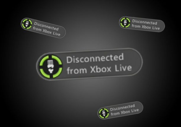 xbox live disconnected