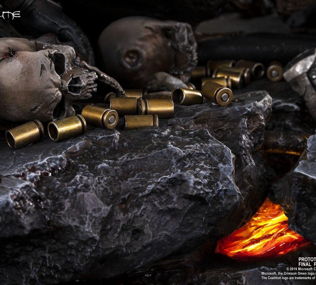 Gears of War Маркус против генерала RAAM гильзы