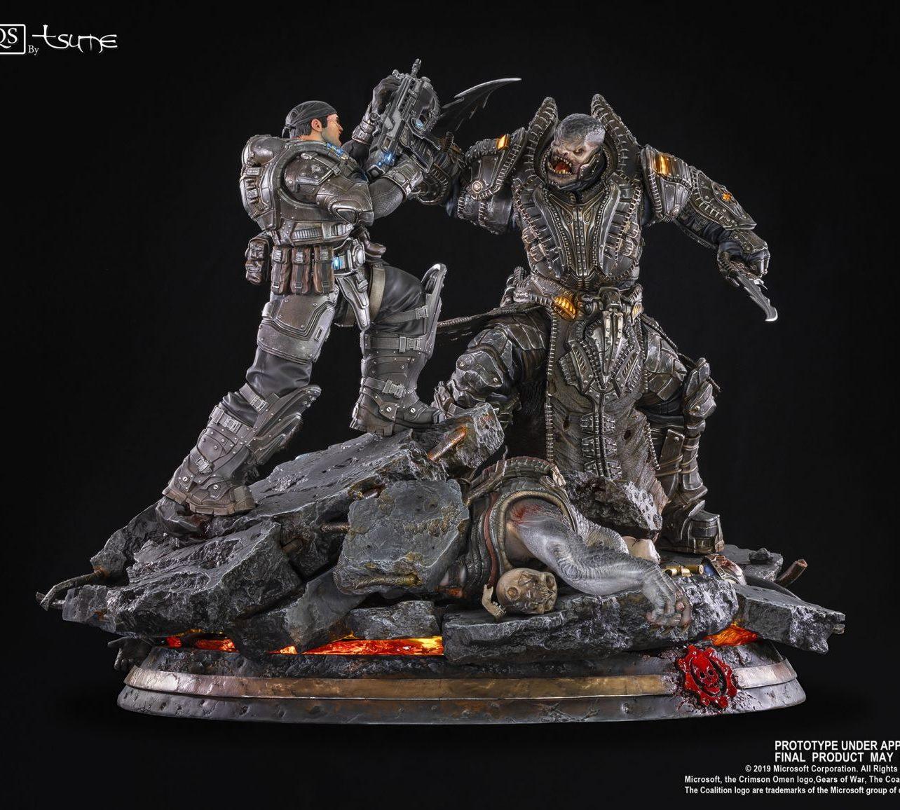 Gears of War Маркус против генерала RAAM общая 2