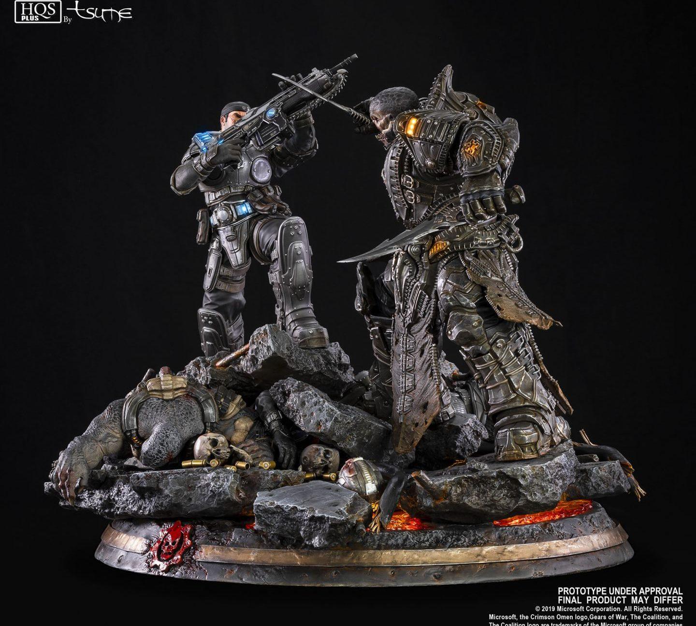 Gears of War Маркус против генерала RAAM общий вид