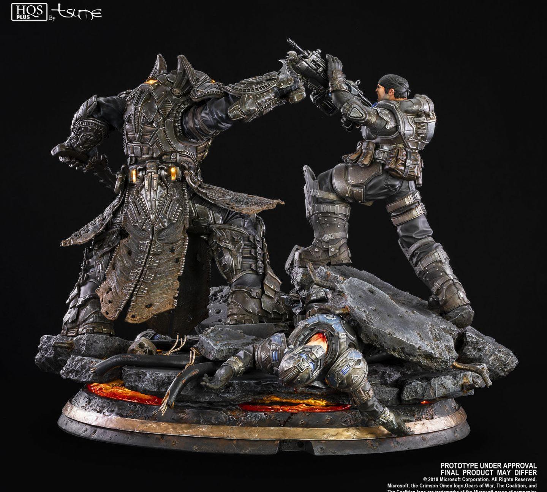 Gears of War Маркус против генерала RAAM общий вид 2
