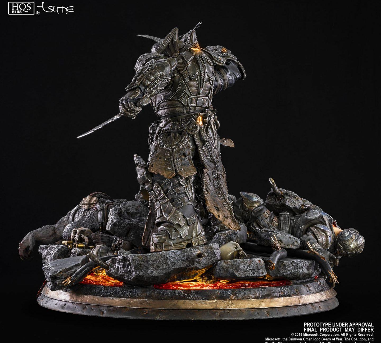 Gears of War Маркус против генерала RAAM общий вид сзади