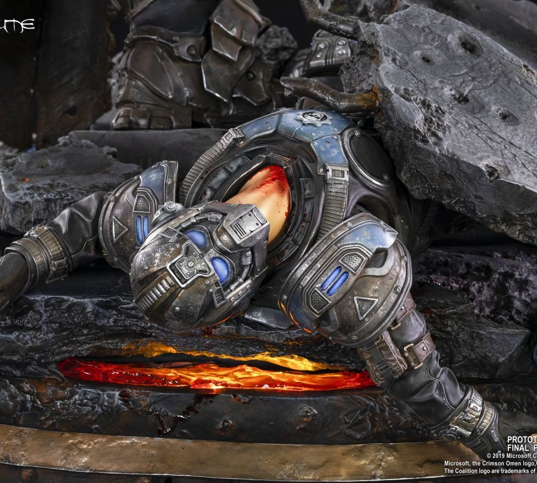 Gears of War Маркус против генерала RAAM труп