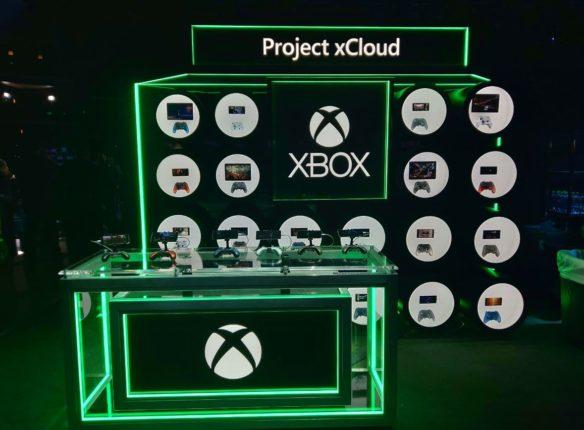 Стенд Project xCloud на E3 2019