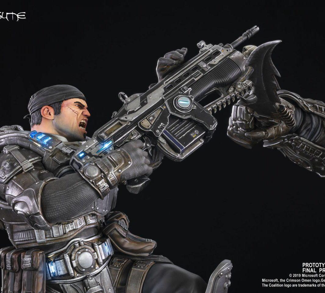 коллекционная фигурка Gears of War Маркус против генерала RAAM