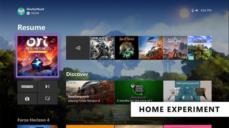 Инсайдеры Xbox получили обновлённый дашборд