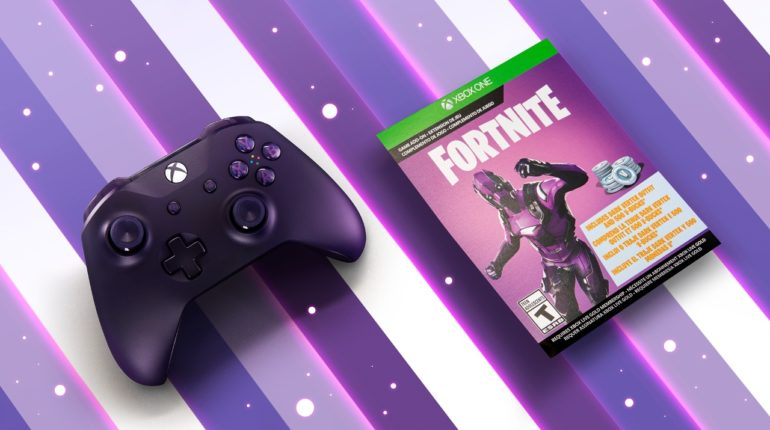 Контроллер Xbox One Fortnite Battle Royale Special Edition стал доступен для предзаказа