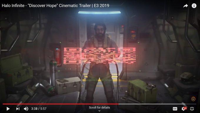 Трейлер Halo infinite содержит секретный код