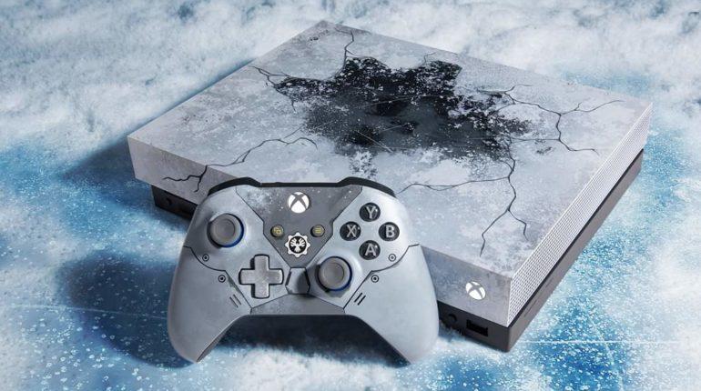 Лимитированная Xbox One X Gears 5