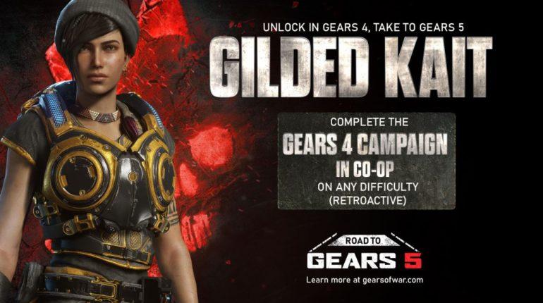 В Gears of War 4 вышли новые испытания, дающие доступ к контенту в Gears 5
