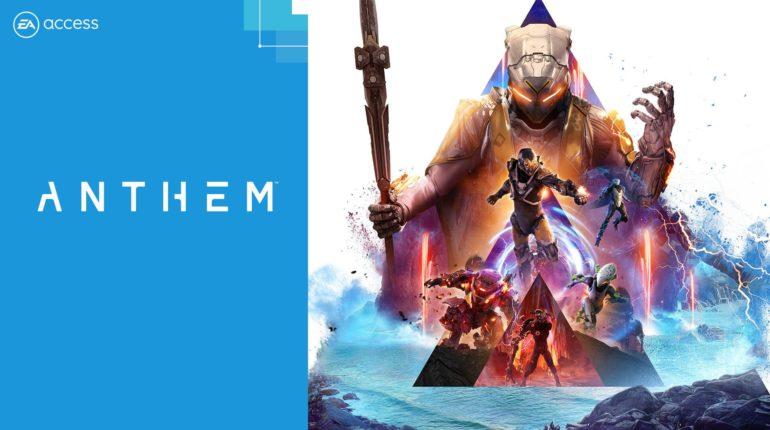 Anthem добавлена в хранилище EA Access