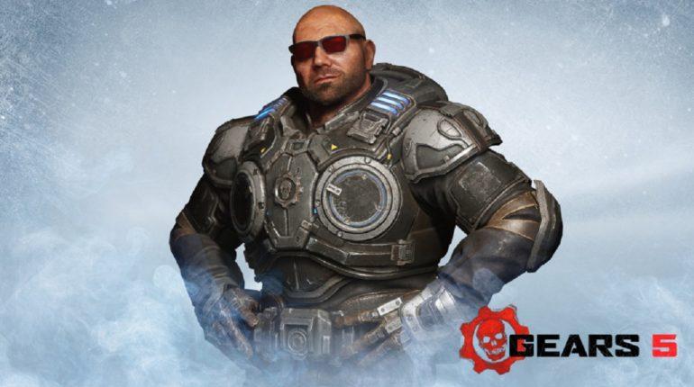 Если вы играете в Gears 5, то теперь вы можете бесплатно разблокировать рестлера и актёра Дэйва Батиста (Dave Bautista)