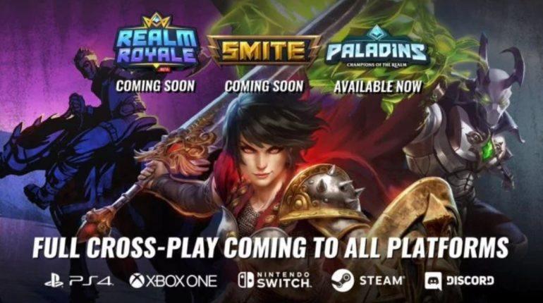 Paladins, Realm Royale и SMITE получили кросс-плей Xbox One PlayStation 4 PC