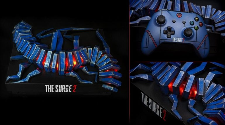 Xbox One X The Surge 2 Custom