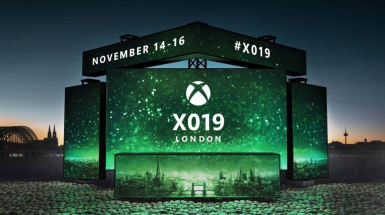 X019 Xbox пройдет с 14 по 16 ноября в Лондоне на Купер арена