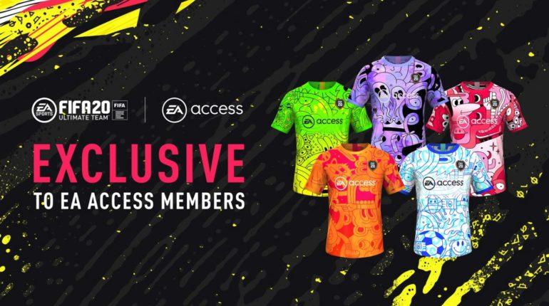Подписчикам EA Access доступны пользовательские наборы в EA SPORTS FIFA Ultimate Team