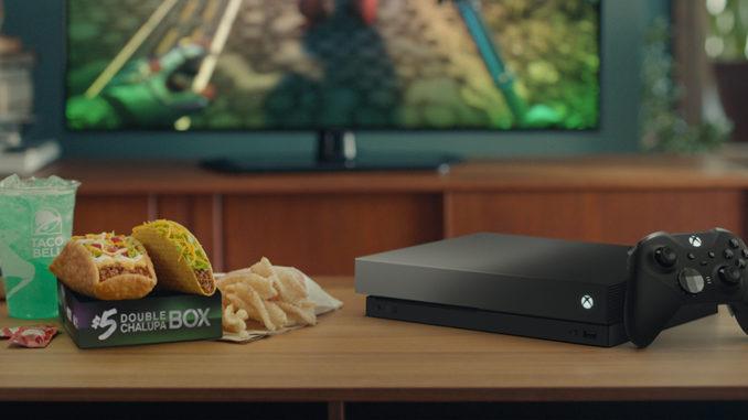 Taco Bell разыгрывает уникальный бандл Xbox One X
