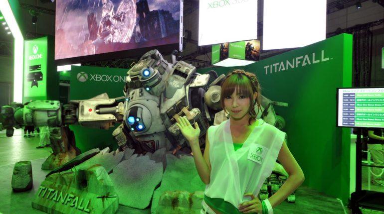 Xbox в Японии Titanfall