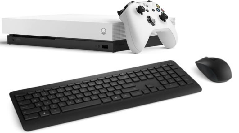 Xbox Клавиатура Мышь
