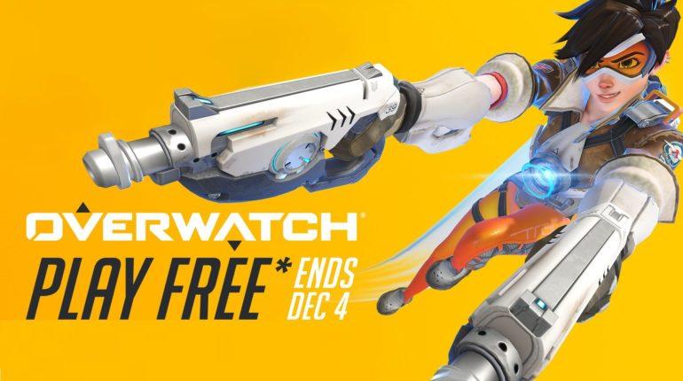 Overwatch будет доступна бесплатно с 26 ноября по 4 декабря для подписчиков Xbox Live Gold