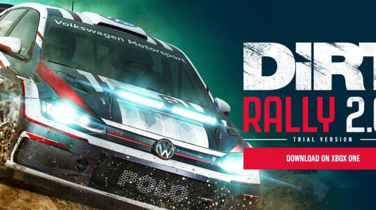 DIRT Rally 20 Demo